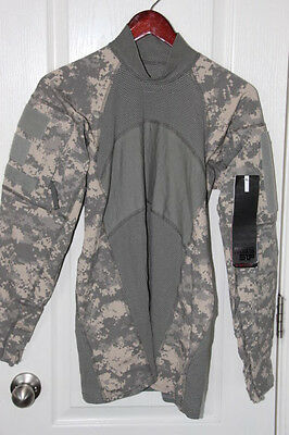 ACU Digital Camo Massif Mountain Gear Army Combat Shirt ACS Medium NWT