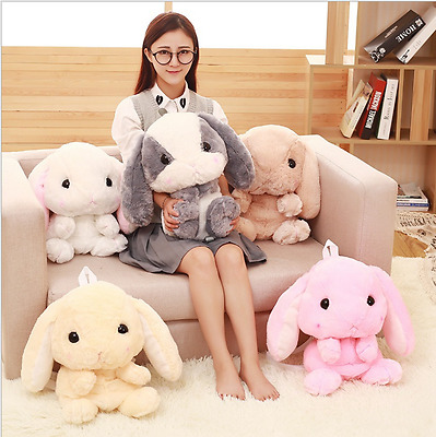 Cute bunny bag pendant rabbit toy stuffed toy backpack shoulder puppet doll hot