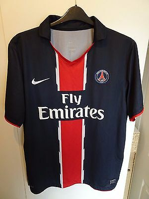 Mens PSG Paris Saint Germain Home 2007/08 Shirt - Size XL