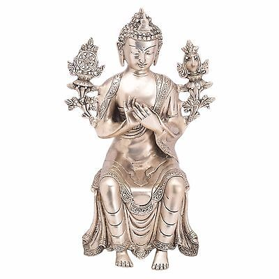 decorative statue of Buddha handicrafts product by Bharat Haat™BH05486