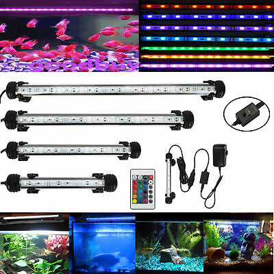unterwasser led aquarium wasserdicht aquarien zubeh r tank licht blau wei 69cm eur 41 16. Black Bedroom Furniture Sets. Home Design Ideas