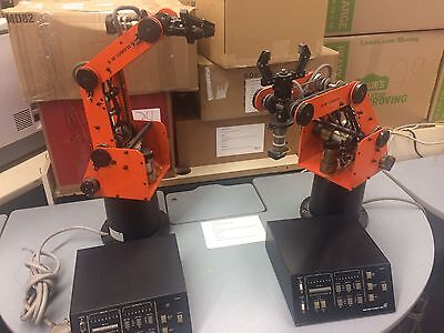 Used Scorbot-ER 3 Robot Arm with Control Box 1 left