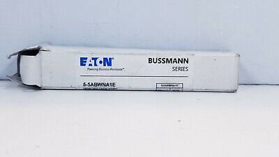 Bussman 1A Time Delay Cylindrical Fuse 5500VAC 5-5ABWNA1E New open box