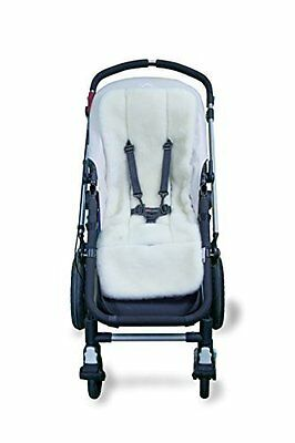 Outlook Universal Wool Stroller Liner Seat Cushion Pad White