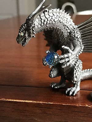 Rawcliffe Pewter Dragon ~ Rare And Mint