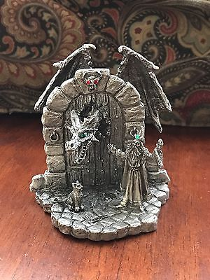 "Rawcliffe Diorama ""Potion Gone Bad ~ Signed By Missy Leigh ~ Mint"