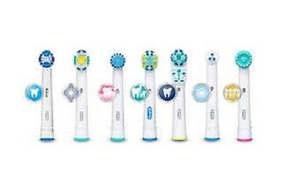 Braun Oral B Electric Toothbrush Replacement Brush Heads