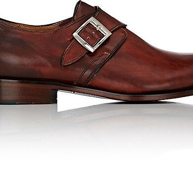 Barneys New York Mens Monk-Strap Shoes