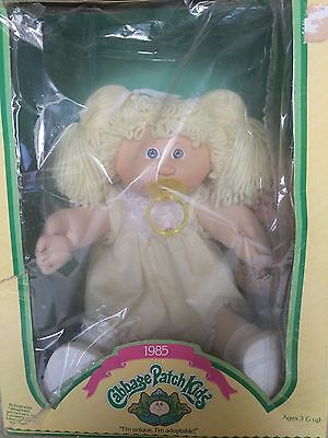 Vintage 1985 Cabbage Patch Kids Doll In Original Box