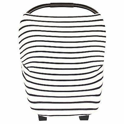 Baby Car Seat Canopy - Nursing Breastfeeding Cover Scarf Shopping Cart, Carseat