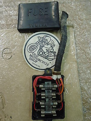 Yamaha XJ550 Replacement Fusebox Panel & Cover OEM