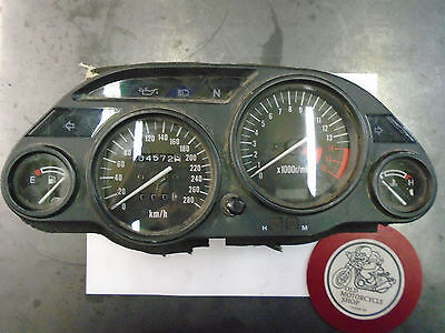 Kawasaki Zx6E Gauges/ Instrument Cluster     Reads In  Km/h
