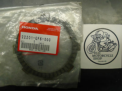 HONDA  FRICTION DISCS  22201-GF6-000 (see details for fitment)