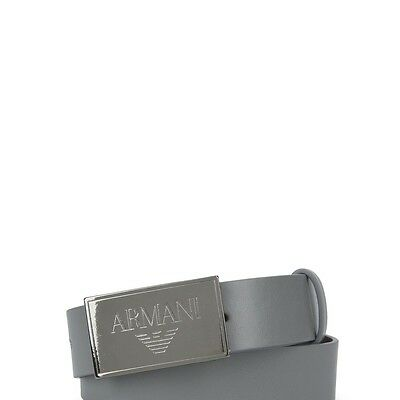 Armanijunior Solid Colour Belt With Buckle And Adjustable Plate