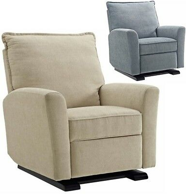 Gray Beige Baby Relax Glider Recliner Arm Chairs Nursery Armchair Armchairs Grey