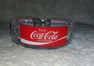 Coca Cola Ashtray - Germany Schutzmarke (Trink Coca-Cola)