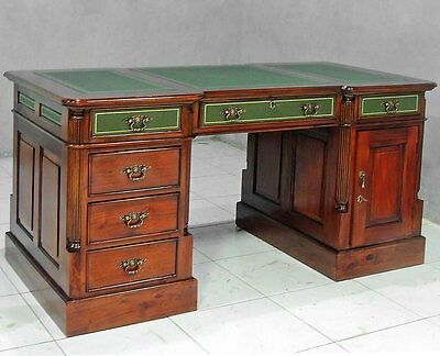secretaire style anglais thomas chippendale en acajou massif bureau victorien eur 599 00. Black Bedroom Furniture Sets. Home Design Ideas