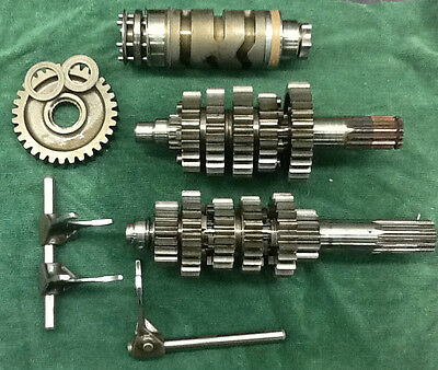 Ducati Monster Transmission gears w/ Shift Drum and forks