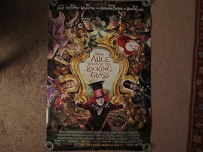 """Alice Through The Looking Glass Original US Promo Movie Poster 27"""" x 40"""" New"""