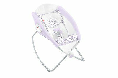 Fisher-Price Deluxe Rock 'n Play Sleeper, White
