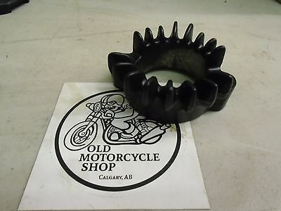 1969-78 Honda CB750 Exhaust Flange Silk Black Powder Coat CHOPPER BOBBER CAFE