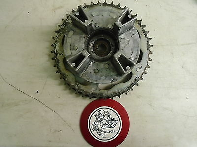 1989 Honda CBR600 Rear Wheel Hub and Sprocket
