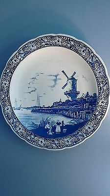 """Delft Royal Sphinx Maastricht 15 3/4"""" Windmill Charger Wall Plate"""