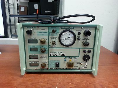 LIFECARE PLV-100 Portable Ventilator (for parts/AS IS) | ME54