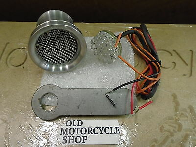 NOS After Hours Choppers Titmouse Motorcycle Tail Light LED Billet OEM#11272