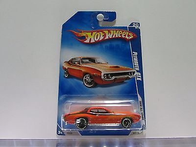 Plymouth GTX Hot Wheels 1:64 Scale Diecast Car *UNOPENED*