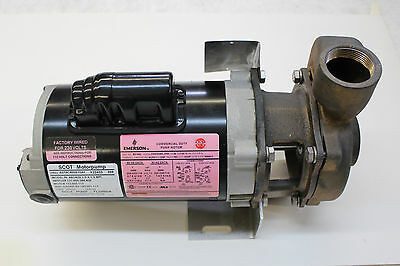 Scot Pumps Air Condition Model Sc78 Marine