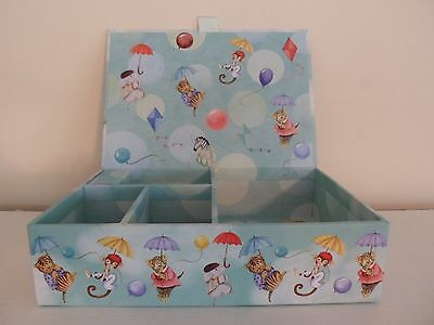 PUNCH STUDIO Child's Music Box Up, Up & Away Twinkle Twinkle Little Star Animals