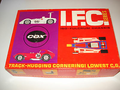 Cox IFC Chaparral 2E slot race kit sealed in package NOS