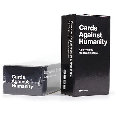 Cards Against Humanity: UK edition - BRAND NEW - Fast Dispatch - Party Game Fun