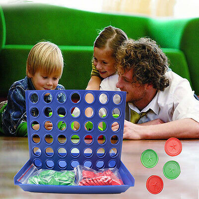 Hot Funny Connect Four In A Row 4 In A Line Board Game Educational Toy Children