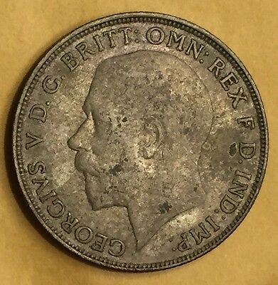 1922 AU Great Britain British United Kingdom Florin Two ShillIngs