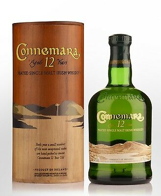 Connemara 12 Year Old Single Malt Irish Whiskey 700ml 40 % abv