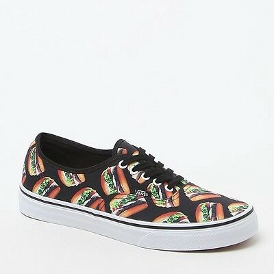 Vans Mens Vans Late Night Authentic Burger Print Shoes