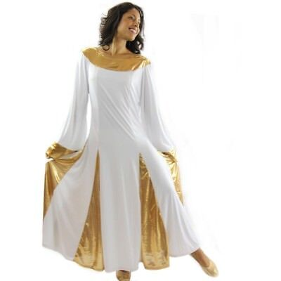 Danzcue Womens Praise Worship Dance Robe Dress