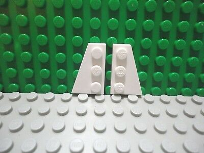 54384 & 54383 Bright Grey x4 Pairs Lego Wings 3x6 Left & Right