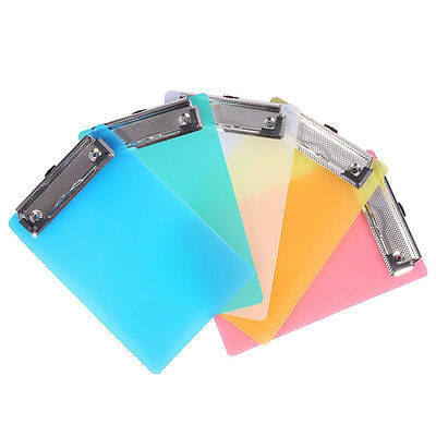 5 Pcs Mini Small Transparent Clipboard Plastic Tiny A6 Clear Clip Boards