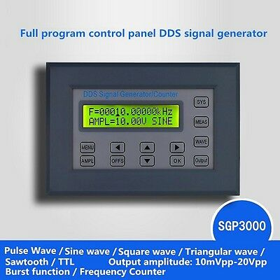 2-20Mhz Series Panel type DDS Function Signal Generator Multi Waveform FeelTech
