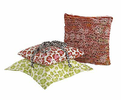 Cotton Tale Designs 3 Piece Pillow Pack, Here Kitty Kitty