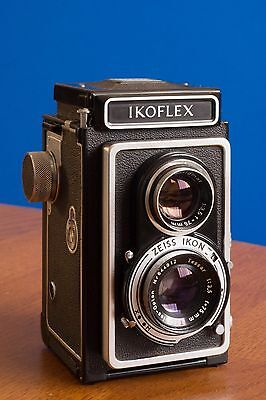 Zeiss Ikoflex 1a TLR camera with Tessar lens, tested with 120 film