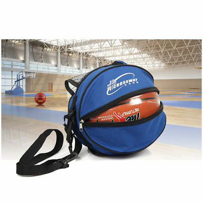 Portable Shoulder Basketball Ball Bags Water Bottle Pack Outdoor Sports Soccer