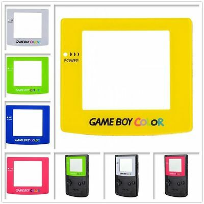 Upper Case Plastic Protective Screen Lens for Nintendo Gameboy Color GBC Console