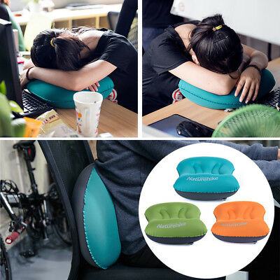 Mini Travel Ultralight Air Inflatable Pillow Outdoor CampingTravel Soft Pillow B