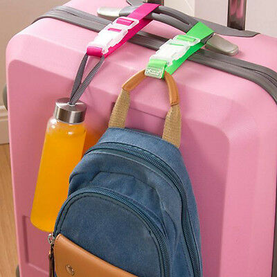 Luggage Case Straps Suitcase Clip Protect Belt Easy Adjustable Buckle Strap HOT