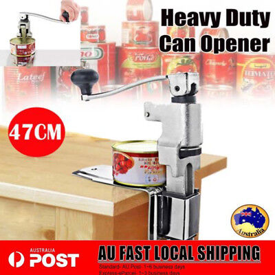 Heavy Duty Stainless Large Commercial Table Can Opener Counter Bench Home&Bar AU