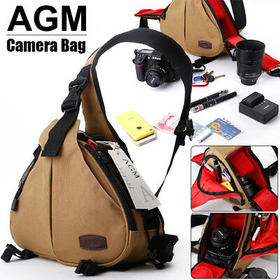 Waterproof DSLR SLR Camera Shoulder Case Bag for Canon Nikon Sony EOS